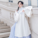 National costume / stage costume Autumn of 2018 White jacket only in stock 155 160 165 170 HFAY2176 Return to the Han and Tang Dynasties 18-25 years old Other 100%