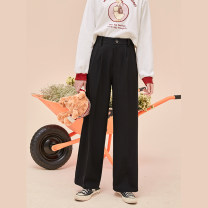 Women's large Spring 2021 black Large XL, 2XL, 3XL, 4XL, 5XL street DK10307 10. DAA / Xiada Europe and America