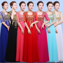 National costume / stage costume Spring 2021 White, black, watermelon red, rose red, sapphire blue, bright red, ice blue Xs, s, m, l, XL, XXL, XXXL, enlarged XXXL, custom shot here