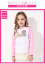 T-shirt Red, purple, pink Barbie / Barbie 110cm,120cm,130cm,140cm,150cm,160cm female spring and autumn Long sleeves Crew neck leisure time There are models in the real shooting nothing cotton Cartoon animation Cotton 95% polyurethane elastic fiber (spandex) 5% BA3170 Class A other Chinese Mainland