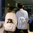 Sweater / sweater Autumn 2020 White with bear, blue with rabbit Average size Long sleeves routine Socket routine Crew neck commute routine 18-24 years old 51% (inclusive) - 70% (inclusive) Korean version cotton cotton