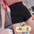 Casual pants Batch 7 black spot XS,S,M,L Summer of 2018 shorts Wide leg pants High waist Versatile routine 25-29 years old 51% (inclusive) - 70% (inclusive) BettyChow cotton cotton