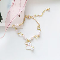 Bracelet Alloy / silver / gold 10-19.99 yuan Other / other brand new Japan and South Korea female Online gathering features Bear / pig / animal