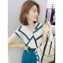 Dress Summer 2021 White, color matching S,M,L Mid length dress singleton  Short sleeve street Crew neck High waist other routine Others bobowaltz B192y05742p 51% (inclusive) - 70% (inclusive) other Europe and America