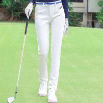 Golf apparel White, Navy, black XS,S,M,L,XL female Ttygj (clothing) trousers T168
