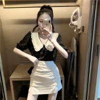 skirt Summer 2021 S m average Black skirt white skirt fruit green skirt T-shirt black T-shirt white Short skirt commute High waist A-line skirt Solid color Type A 18-24 years old XYL-CO0595A More than 95% Sunyaloo / Xingyi Road other Korean version Other 100% Pure e-commerce (online only)