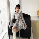Fashion suit Spring 2021 XS,S,M,L Light grey MUCHA STUDIO 31% (inclusive) - 50% (inclusive) polyester fiber