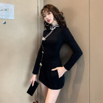 Fashion suit Autumn of 2019 S,M,L,XL,XXL black 18-25 years old Other / other