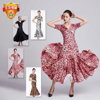 Modern dance suit (including performance clothes) Qingqing Jiamei Dance Dress Waltz, tango, Foxtrot, trot female S. M, l, XL, XXL, XXXL, larger other B-06