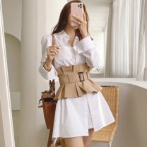 Fashion suit Spring 2021 S,M,L,XL White (suit) 18-25 years old 81% (inclusive) - 90% (inclusive) nylon