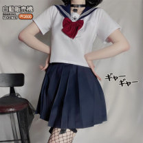 student uniforms Summer 2021 S,M,L,XL,XXL Short sleeve solar system skirt 18-25 years old Other / other