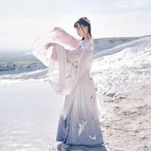 National costume / stage costume Summer of 2019 Big sleeves, big sleeves (the eighth batch) XS,S,M,L SHF15935 More than thirteen