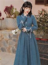 Dress Autumn 2020 Picture color S,M,L 312#