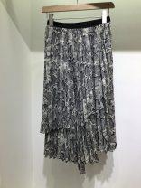 skirt Spring 2020 Average size serpentine Mid length dress Versatile High waist Irregular Type A 25-29 years old