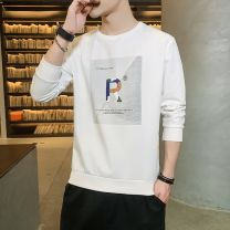 T-shirt Youth fashion Sm-0827 black long sleeve sm-0827 white long sleeve sm-0827 grey long sleeve routine 165/M 170/L 175/XL 180/XXL 185/XXXL OSACHI Long sleeves Crew neck Self cultivation Other leisure autumn SM0827 Cotton 69.5% polyester 26.4% polyurethane elastic fiber (spandex) 4.1% teenagers