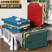 trunk male ultra-large capacity 24 inch 26 travel Draw bar box Universal wheel strong durable thickening female trend case