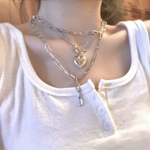 Necklace other RMB 1.00-9.99 Other / other brand new Japan and South Korea female yes Fresh out of the oven yes Love / water drop / bell