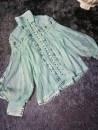 Lace / Chiffon Summer 2020 Green top, white top, black top, white skirt S,M,L