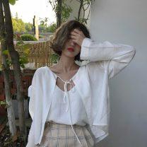 Fashion suit Spring 2021 Average size Single sling, single cardigan, two piece set 18-25 years old