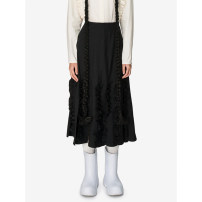 skirt Winter 2020 S,M,L black Mid length dress Sweet High waist Pleated skirt Type A 25-29 years old 51% (inclusive) - 70% (inclusive) other Studio1till8 polyester fiber solar system