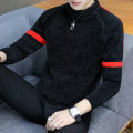 T-shirt / sweater Gefan Leopard Youth fashion M L XL XXL XXXL routine Socket Crew neck Long sleeves autumn Slim fit 2019 Polyester 100% leisure time like a breath of fresh air youth routine Solid color Autumn of 2019 Fine wool (16 and 14 stitches) Pure e-commerce (online only)