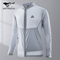 Jacket Septwolves Youth fashion 165/84A/M 170/88A/L 175/92A/XL 180/96A/XXL 185/100A/XXXL 190/104A/XXXXL routine easy motion spring Polyamide fiber (nylon) 93.1% polyurethane elastic fiber (spandex) 6.9% Long sleeves Wear out youth routine Spring 2020 nylon 90% (inclusive) - 95% (inclusive)