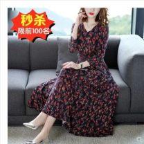 Dress Autumn of 2018 Safflower 9330- M,L,XL,2XL,3XL,4XL Other / other