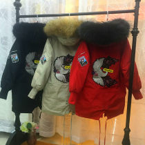 Down Jackets Winter of 2018 Other / other S M White duck down 70% Medium length Long sleeves thickening commute routine Korean version