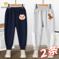 trousers Vigorous strategy male 73cm 80cm 90cm 110cm 120cm 130cm 105cm spring and autumn trousers leisure time There are models in the real shooting Sports pants Leather belt middle-waisted Pure cotton (100% content) Don't open the crotch Cotton 100% K787+807 Class A Autumn 2020 Chinese Mainland