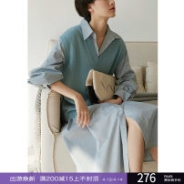 Dress Spring 2020 XS,S,M longuette singleton  Long sleeves commute other middle-waisted Solid color Single breasted other routine Others 25-29 years old Type A Epoque de rueen / Ruishi Simplicity 51% (inclusive) - 70% (inclusive) other other