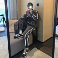 Leisure sports suit autumn M,L,XL Grey coat , Grey trousers Long sleeves Other / other trousers teenagers Sweater SL57859,SL57860 polyester fiber 2020 100% polyester