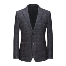 man 's suit As shown in the figure Others other routine 165/84A〈46〉,170/88A〈48〉,175/92A〈50〉,180/96A〈52〉,185/100A〈54〉,190/104A〈56〉 1979/iu Self cultivation Two double breasted Other leisure No slits middle age Long sleeves autumn routine Business Casual Slant hem lattice 2020 No iron treatment other