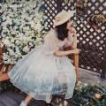 Lolita Dress Jsk pink, jsk blue, Skirt Pink gradient, skirt blue gradient S,M,L Midsummer story