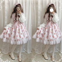 Dress Spring 2020 S,M,L Middle-skirt singleton  Sleeveless Sweet Cartoon animation camisole Type A Lolita
