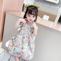 Dress Decor female Other / other 80cm,90cm,100cm,110cm,120cm,130cm Cotton 90% other 10% summer princess Short sleeve Broken flowers cotton Princess Dress YYT Flower Ribbon Dress Class B 12 months, 18 months, 2 years old, 3 years old, 4 years old, 5 years old, 6 years old Chinese Mainland Huzhou City