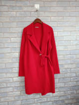 short coat Spring 2020 XS,S Black, red Long sleeves Medium length thickening 31% (inclusive) - 50% (inclusive) other