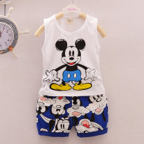 Vest sling Sleeveless 80,90,100,110 summer Other / other neutral No model leisure time Cartoon animation Crew neck nothing Pure cotton (95% and above) Cotton 100% Class A 12 months, 18 months, 2 years old, 3 years old, 4 years old