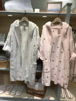 Nightgown / bathrobe Zuo Meng female Average size Pink banana mint green pineapple