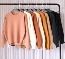 Wool knitwear Winter of 2018 Average size Khaki, black, dark green, pink, ginger, camel, sapphire, caramel, light apricot Long sleeves singleton  Socket other 81% (inclusive) - 90% (inclusive) have cash less than that is registered in the accounts thick commute easy Low crew neck bishop sleeve Socket