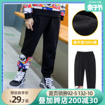 trousers Beitian male 100cm 110cm 120cm 130cm 140cm 150cm 160cm spring and autumn trousers leisure time There are models in the real shooting Sports pants Leather belt middle-waisted Pure cotton (100% content) Cotton 100% KZ038 Spring 2021