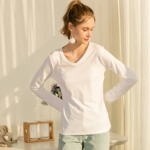 T-shirt S M L XL XXL Autumn of 2019 Long sleeves Crew neck easy Regular routine Sweet cotton 86% (inclusive) -95% (inclusive) classic Case YG293-002 printing Cotton 95% polyester 5% Pure e-commerce (online only) Mori