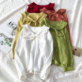 shirt White red yellow orange green Average size Autumn of 2019 cotton 96% and above Long sleeves commute Regular other other routine other 18-24 years old Straight cylinder VV combination Korean version c102111 Cotton 100% Pure e-commerce (online only)