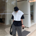 shirt Youth fashion Others M,L,XL White, black routine other Sleeveless easy Other leisure Four seasons Exquisite Korean style 2020