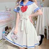 Dress Summer 2021 [down payment] Shuiye women (50cm), [down payment] Shuiye women (60cm), the top 300 will present dahongbo point bow tie, this link is a down payment, and you need to make up the balance S,M,L,XL,XXL