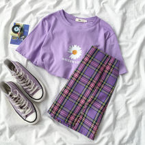 Fashion suit Summer 2020 S M L XL XXL Purple top, purple skirt 18-25 years old Coshehkg / Qiao line ZHEN  A1195,AG2203+G2500 51% (inclusive) - 70% (inclusive) Other 100% Pure e-commerce (online only)