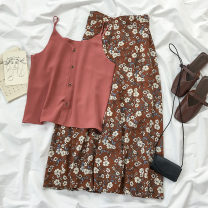 Fashion suit Summer 2020 S M L XL XXL one size fits all 18-25 years old Coshehkg / Qiao line 51% (inclusive) - 70% (inclusive) Other 100% Pure e-commerce (online only)