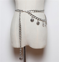Belt / belt / chain other Silver, gold
