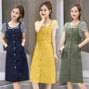 Fashion suit Summer of 2018 S M L XL XXL 18-25 years old Chu Xin 81% (inclusive) - 90% (inclusive) cotton Other 100% Pure e-commerce (online only)