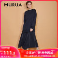 Sweater / sweater Winter of 2018 BEIGE BLACK PURPLE Average size Long sleeves Medium length Socket singleton  routine Sweet routine Solid color 18-24 years old 96% and above MURUA other Other 100% Pure e-commerce (online only) solar system