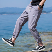 Casual pants Youth epidemic Black + black Grass.G.Mr/Grassroot 3XL CCC918 100% cotton Summer of 2018 Pure electricity supplier (only online sales)